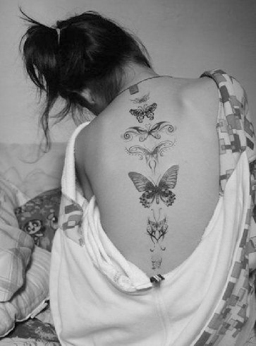 Cool And Unique Spine Tattoos Indian Fashion Blog With Latest Trends For Women Fashionlady