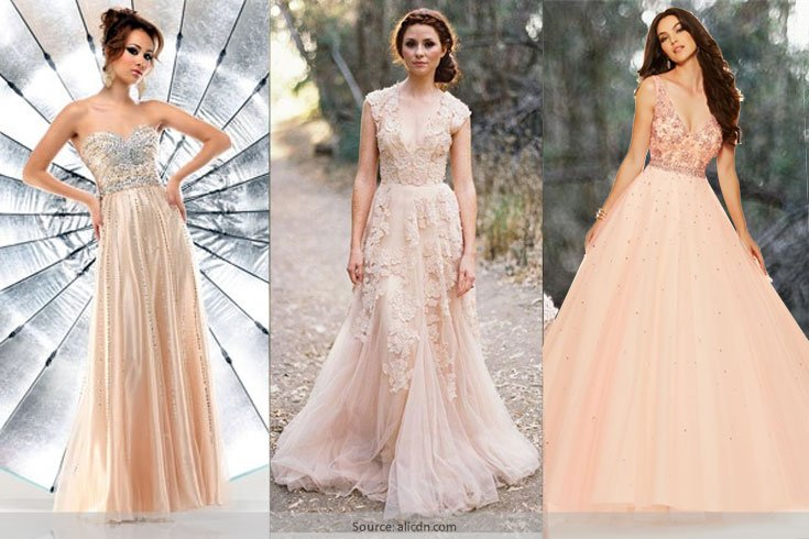 10 Chic Pink Champagne Dresses We Must Own To Create Stunning ...