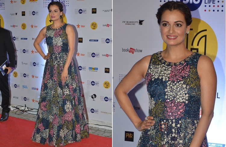 Dia Mirza At 18th Mumbai Film Festival