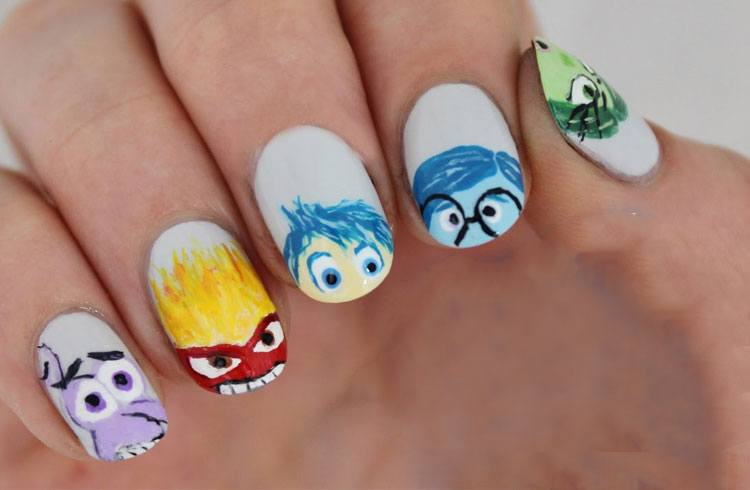 Emoji Nail Art For Phone Addicts