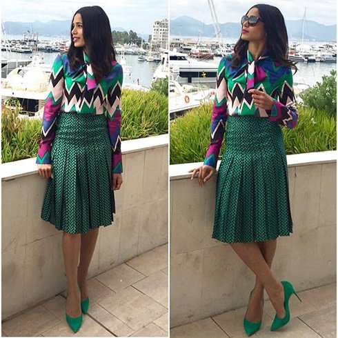 Freida Pinto In House Of Ferragamo