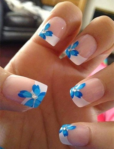 Gorgeous French Tip Nail Designs