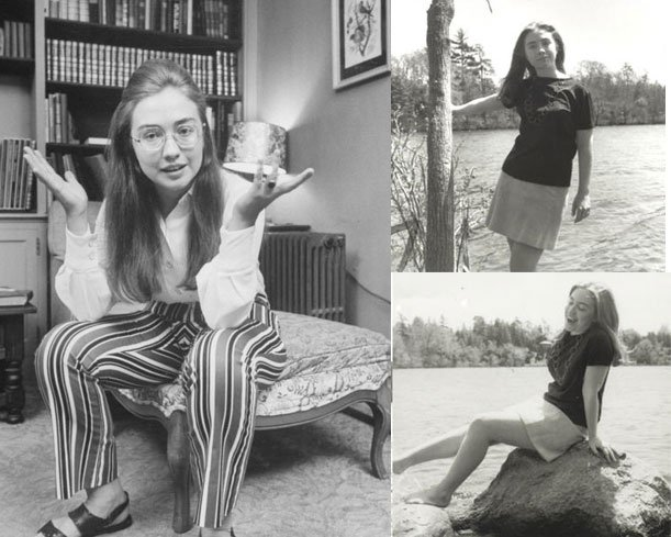 hillary clinton girlhood