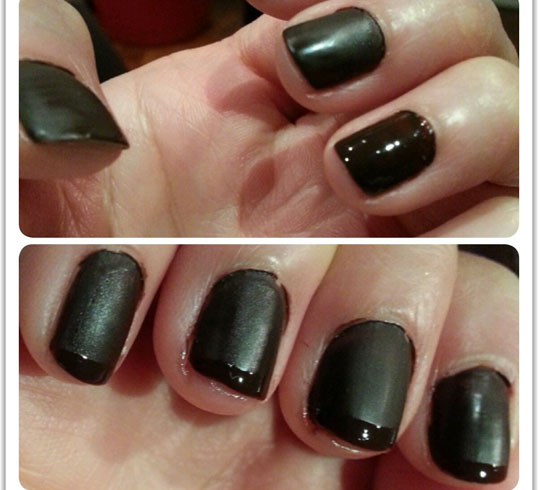how to make clear matte nail polish