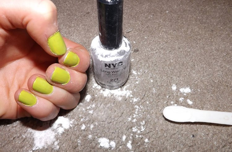 How To Make Matte Nail Polish With Baking Soda