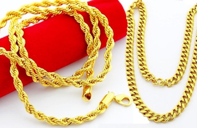 Jewelry Chain Types
