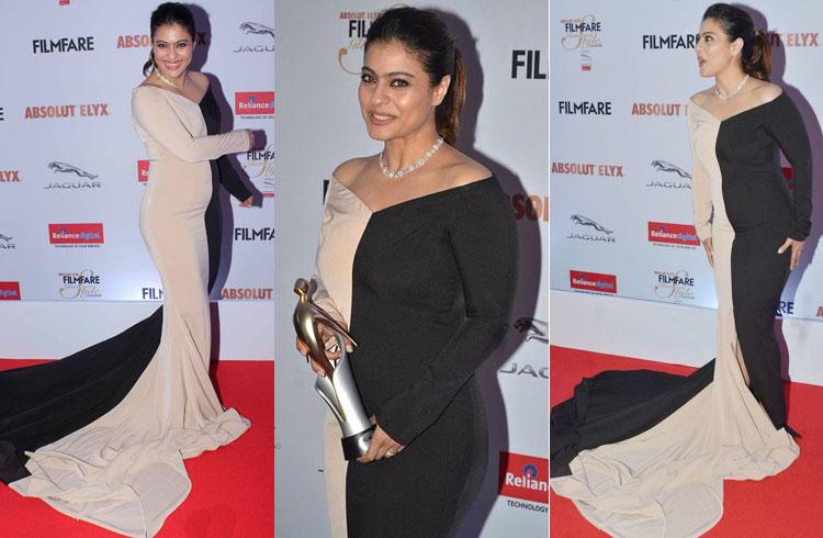 Kajol Filmfare Glamour Style Awards 2016
