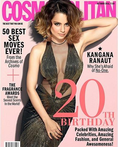 Kangana Cosmopolitan Magazine