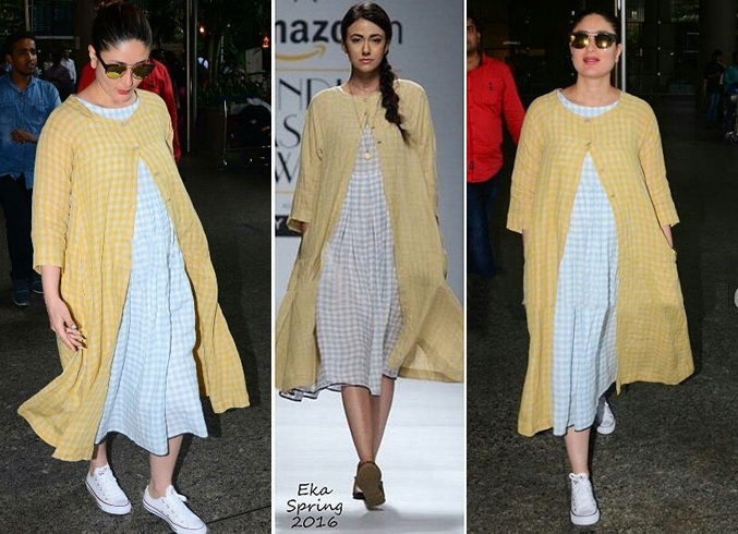 Kareena Kapoor In Ekaco Airport