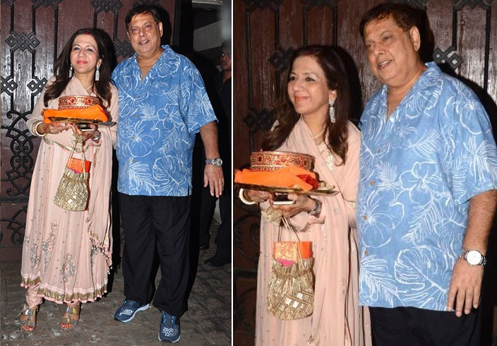 Karuna Dhawan Dresses For Karva Chauth