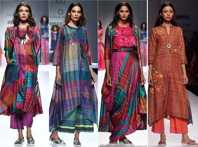 Krishna Mehta AIFW Collections