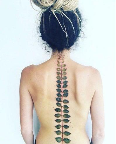 Leaf Spine Tattoo