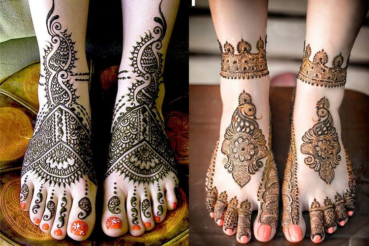 Mehndi Legs Images : 15 mehandi designs for legs: the perfect list a bride to be!