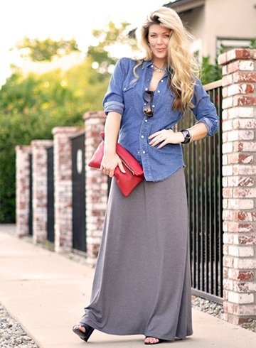 Maxi Dress In Different Styles