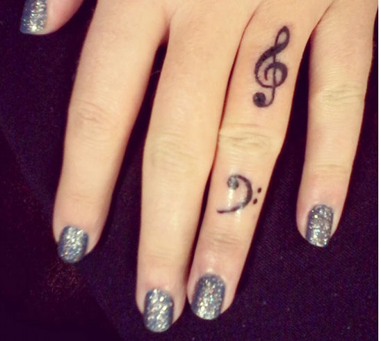 Music Via Your Fingers