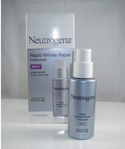 neutrogena- rapid wrinkle repair night moisturizer