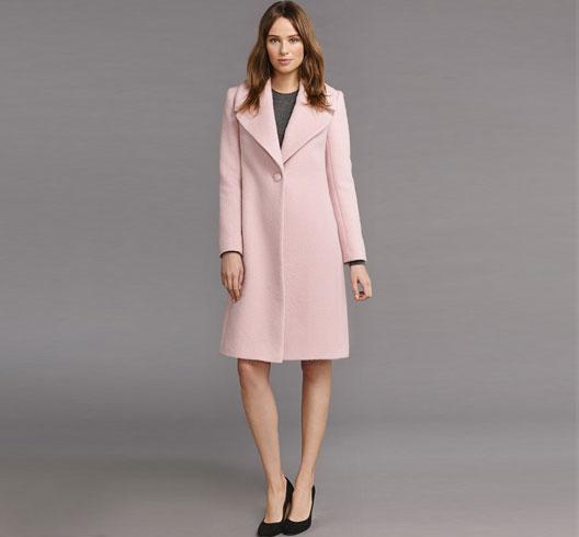 Pink Celeste Coat.