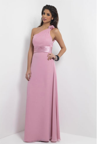 Pink-Dress For a Ladies Dinner Gathering