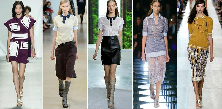 Polo T-Shirt Trend For Lady