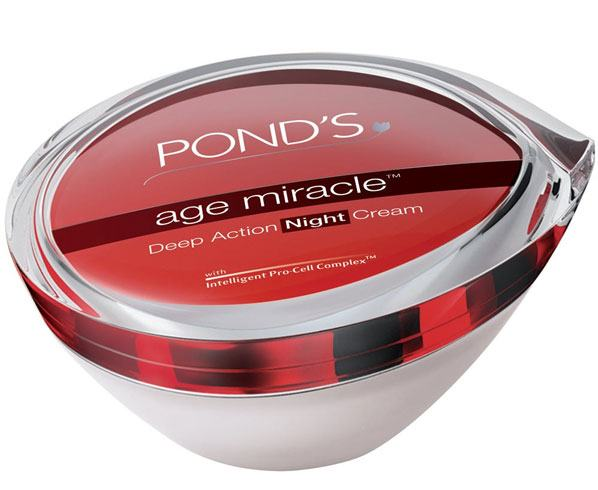 ponds age miracle deep night action cream