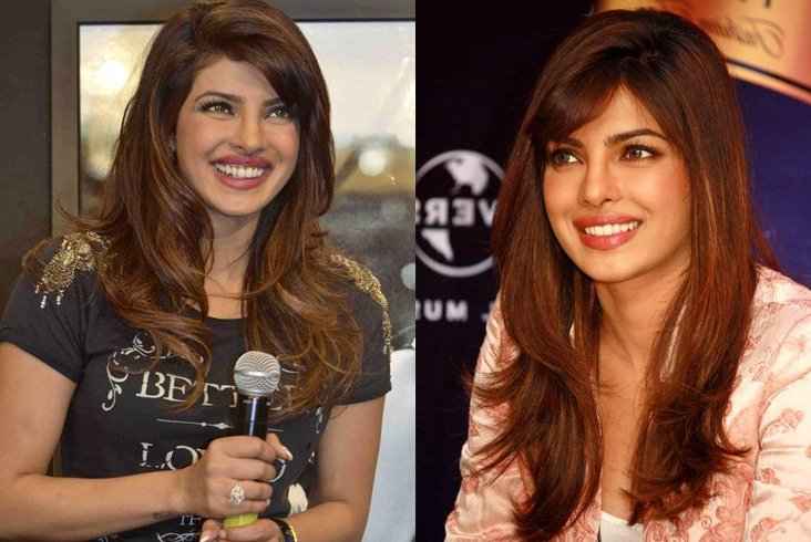 Priyanka chopra color hair