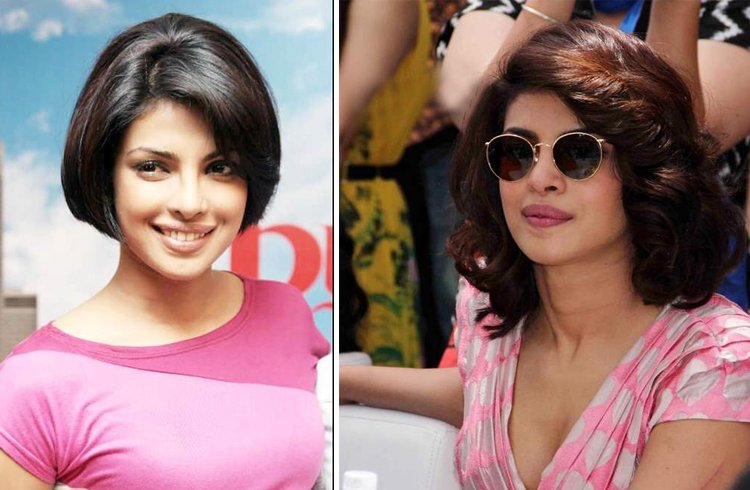 Priyanka chopra hair cut