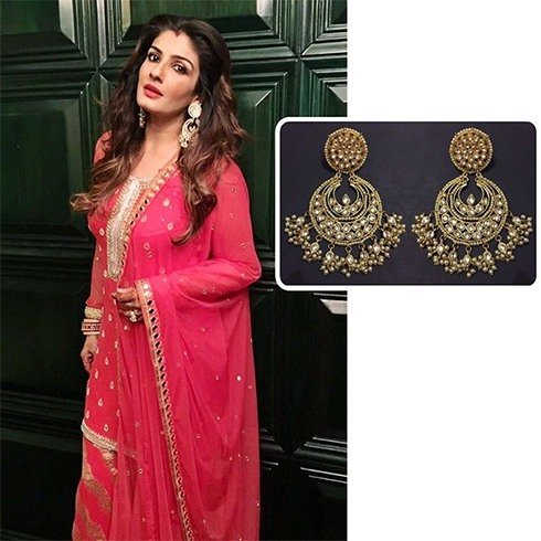Raveena Tandon Dresses For Karva Chauth