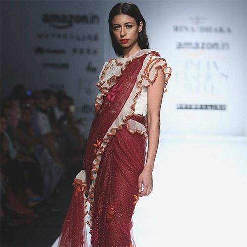 Rrina Dhaka At AIFW