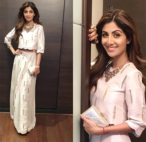 Shilpa Shetty In Label Payal Singhal