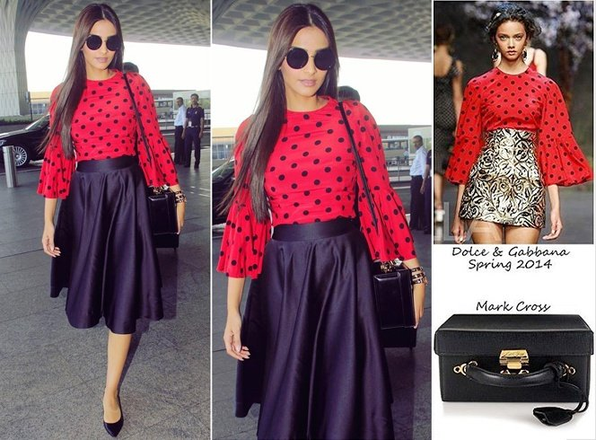 Sonam Kapoor In Dolce And Gabbana