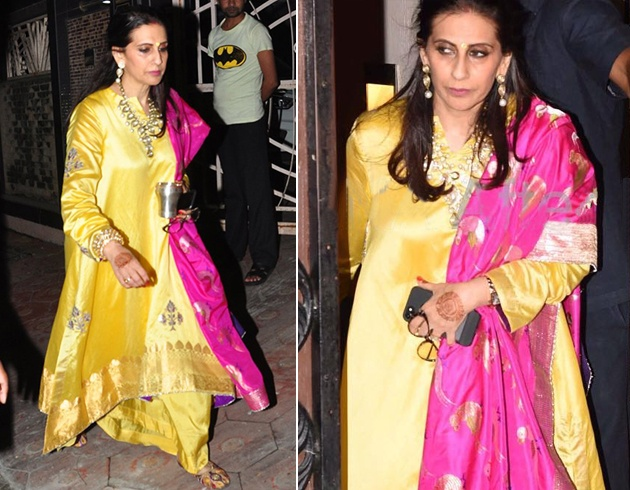 Sunita Kapoor Dresses For Karva Chauth