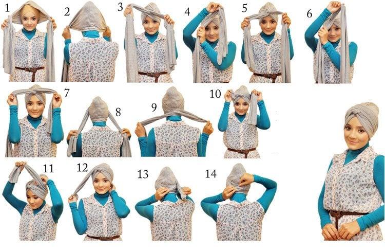Turban Style Bandana