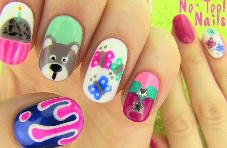 Variety-on-each-nail