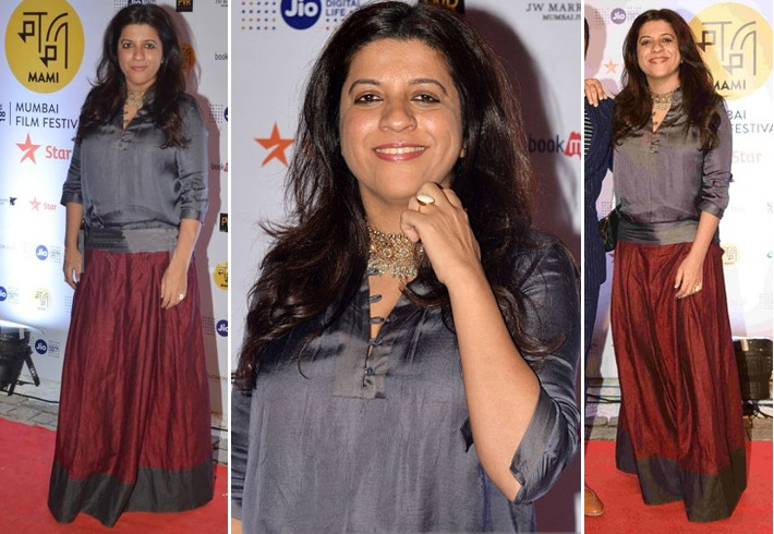Zoya Akhtar At 18th Mumbai Film Festival