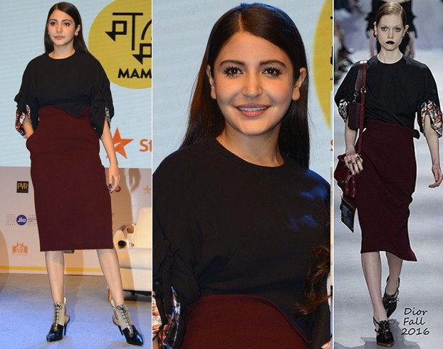 Anushka Sharma In Dior