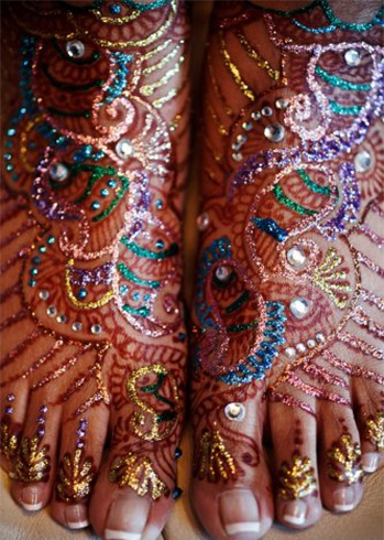 Best Foot Mehandi Designs