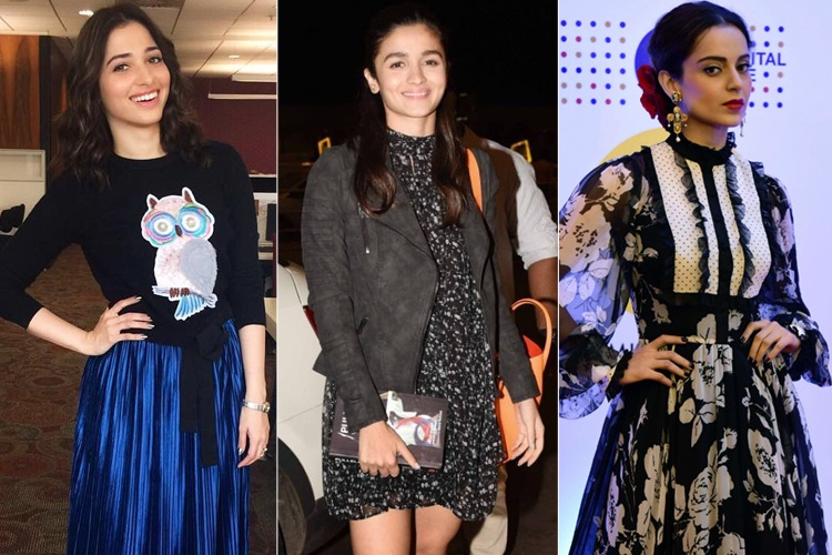Bollywood Celebrites Prints Fashion