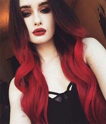 Superb Red And Black Hairstyles The Latest Color Trend That We39Re In Hairstyle Inspiration Daily Dogsangcom