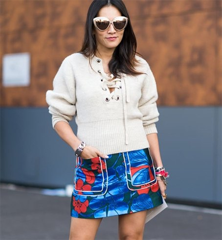 How To Wear Short Skirts In Winter
