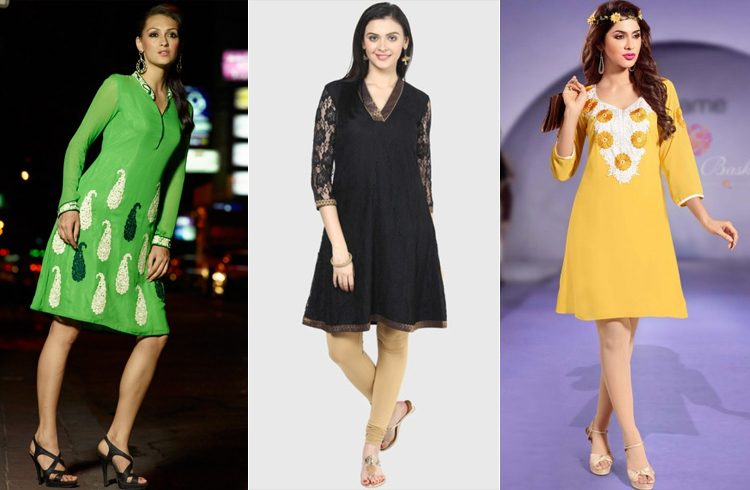 Knee Length Kurtis