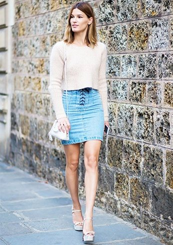Mini Skirt Outfits Ideas