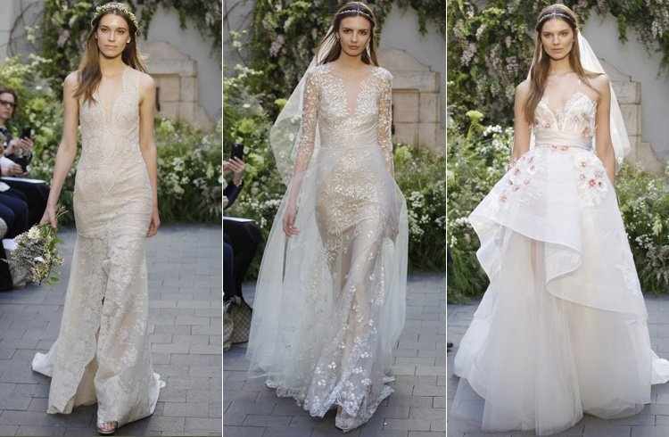 Monique Lhuillier Bridal Collections