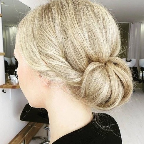 Updo Hairstyles For Medium Hair