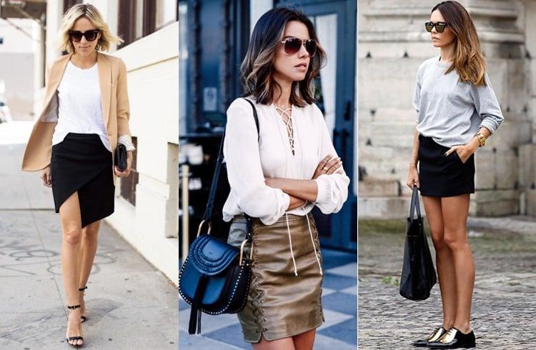 Ways To Wear Short Skirts In Winter