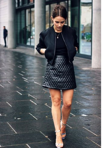Black Dress For Winter
