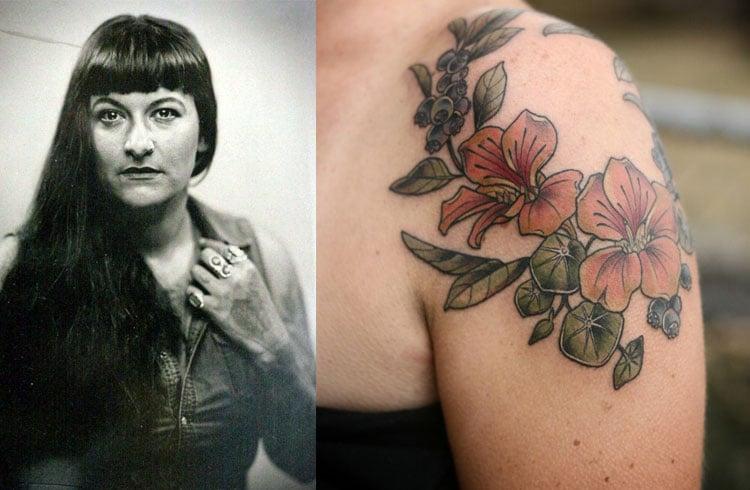 Botanical Tattoo Designs For Women