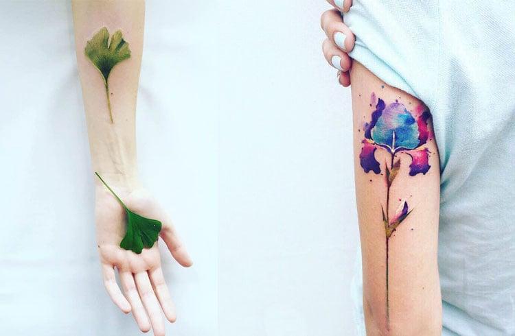 Botanical Tattoo Designs
