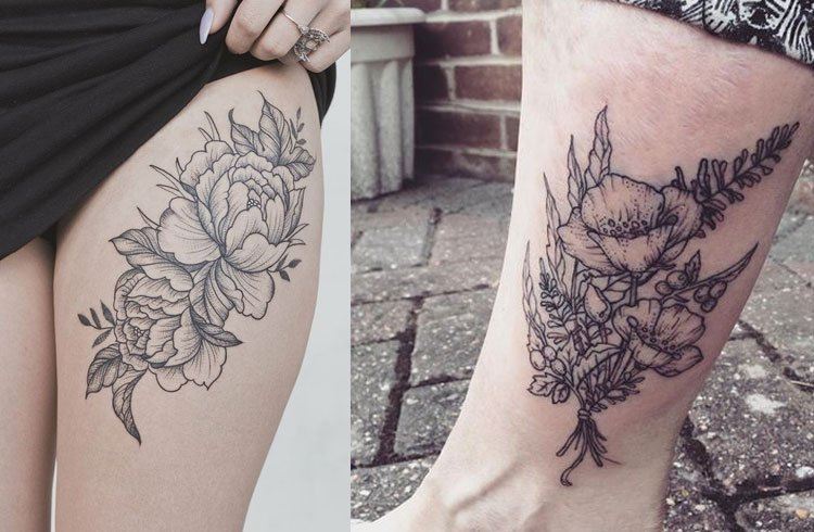Botanical Tattoo Ideas