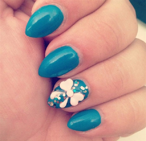 Bow Nail Art To Add A Feminine Charm
