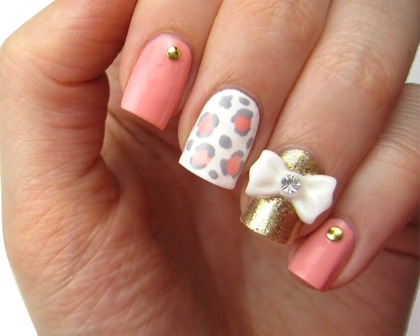 Chic and classy bow nail art for the girly girl in you so let us get started on the bow nail art step by step and bow tie nail art prinsesfo Image collections
